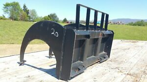 Skid Steer 3 Prong Beaver Claw Ripper