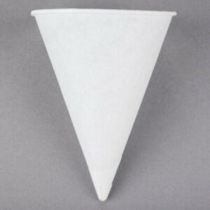 5000 Case 4 5 Oz White Rolled Rim Paper Concession Stand Snow Cone Cups