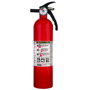 Basic Use Fire Extinguisher Class A B C Dry Chemical Kidde 1a10bc 2 5 Lbs Red
