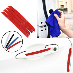 Red Car Auto Door Edge Scratch Anti Collision Protector Guard Strip Universal