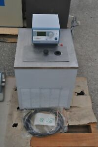 Polyscience 9502a11c Heating Chilling Recirculating Water Bath Programmable 13l