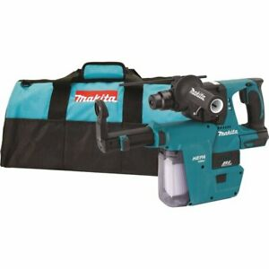 Makita Xrh01zvx 18v Lxt Li ion Brushless Cordless 1 Rotary Hammer With Vac