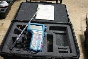 Tsi Model 8360 Veloci Calc Plus Air Velocity Meters With Case