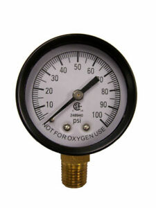 Simmons 1305 100 Psi 1 4 Well Pump Water Pressure Gauge