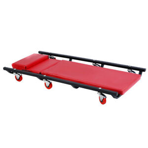 Mechanics Creeper Rolling Shop Garage Auto Car Repair Work Tool Wheels Cart