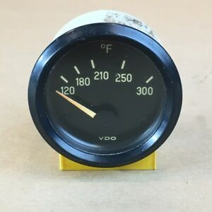 Oem Vintage Vdo 672 Oil Temperature Gauge 120 300 Degrees A311 6 86 Original