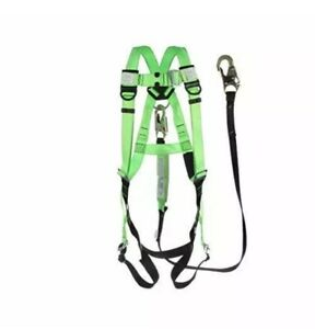 Peakworks Fall Protection V8252356 Compliant Safety Harness And 6 Ft Lanyard
