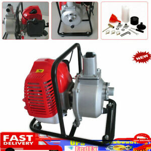 43cc 1 2hp 2stroke Gas Powered Water Transfer Pump Portable For Irrigation New