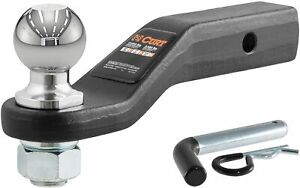 Curt 45331 Trailer Hitch Ball Mount With 2 5 16 Inch Trailer Ball