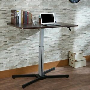 Acme Furniture Inscho Adjustable Height Desk Small