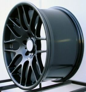 18 Black Wheels Rims Fit Bmw 128i 135i New