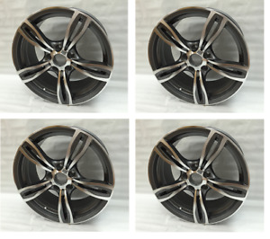 18 Gunmetal Wheels Rims Fit Bmw 128i 135i