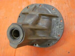 Corvette Chevy Impala Posi Rear End P Case Unstamped B 11 9 Date