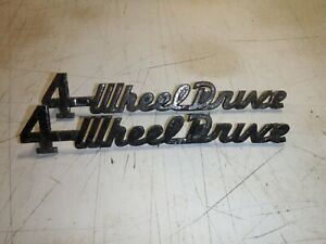 Willys Station Wagon Emblem Pickup Truck 4 Wheel Drive Badge Made In Usa Jeep