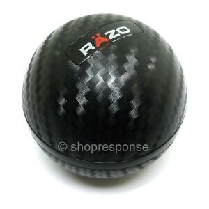 Razo Ra135 Carbon Look Shift Knob Round Ball Type 60g Jdm Open Box Discount