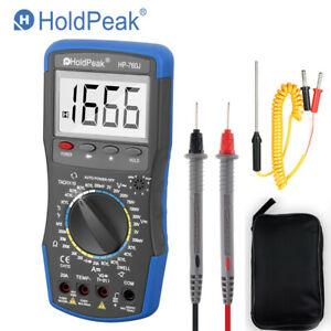 Automotive Multimeter Motor Vehicle Car Resistance Analyzer Meter Dwell Tacho Te