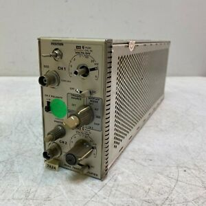 Tektronix 7a24 Dual Trace Amplifier Plug In For 7000 Series Oscilloscopes Mk250