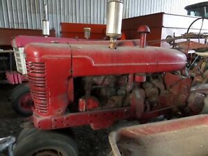 1952 Farmall M Gas Tractor New Electronic Ignition Installed