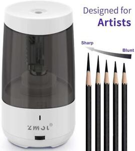 Long Point Pencil Sharpener For Artists heavy Duty Electric Pencil Sharpener rec