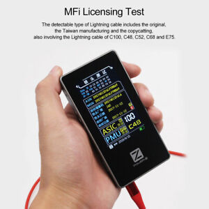 Chargerlab Power z Mfi Data Cable Tester Mf001 Voltage Current Transformer Test