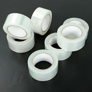 36 Rolls 1 9 x110 Yards 330 Ft Box Carton Sealing Packing Package Tape Clear