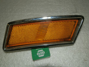 1970 Ford Mustang Boss Oem Left Front Fender Marker Lamp Bezel Assembly