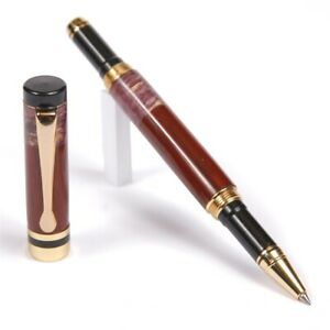 Classic Rollerball Pen Cocobolo With Purple Box Elder