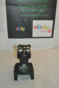 Bausch Lomb Stereozoom 7 Microscope 0 7x 3x Zoom Free Shipping