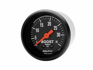 Auto Meter 2616 Z series Mechanical Boost Gauge 2 1 16 Turbo Blower 0 35 Psi