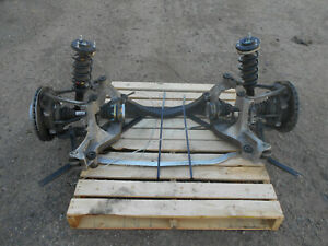 2004 02 03 04 Porsche 911 996 Turbo Rear Suspension Sub Frame Axles 5159