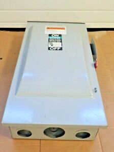 Siemens Gf324nr 200 Amp 240 Volt Fusible 3r Outdoor Disconnect Switch