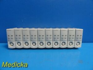 10x Philips M1001b Ecg resp New Style Patient Monitoring Modules tested 20327