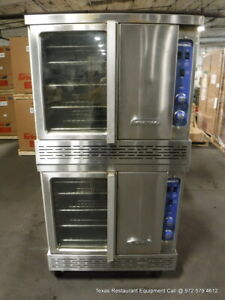 Imperial Icvg 2 a Gas Double Stacked Full Size Convection Oven Year 2019
