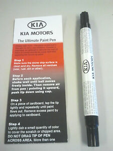 Kia Touch Up Paint Titanium Silver Color Code Im Ua006 Tu5014im Kia Oem Paint