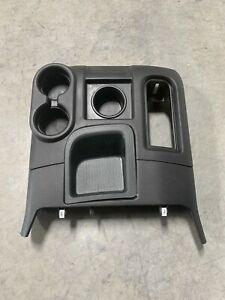 2009 2018 Dodge Ram Floor Shift 4x4 Cup Holder Console Oem Black 09 18