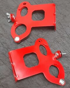 Axe And Shovel Mounting Bracket Set Red See Dimensions In The Description
