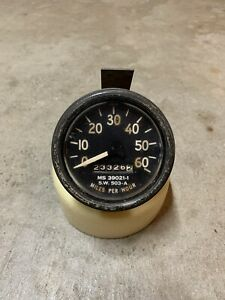 Vintage M Series Military Speedometer Ms 39021 1