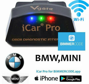2021 Bimmercode Bmw Coding Vgate Icar Pro Tool Wifi Iphone Ipad Android
