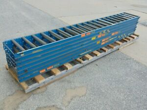7 Sections Of 10 Entegral Gravity Roller Conveyor