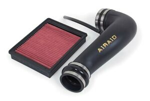 Airaid Junior Air Intake Kit For 2007 2013 Silverado Sierra V8 W Electric Fan