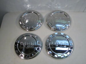 New 1961 1965 Ford F 100 Pickup Truck Stainless Hub Caps Set Of 4 Nice