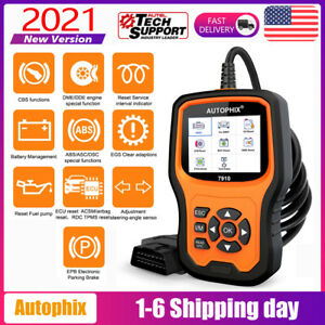 Autophix 7910 For Bmw Code Reader Diagnostic Tool Scanner Obd2 All Systems Tpms
