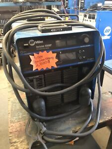 Miller Welder Invision 456mp Used Tested In Great Condition Was Display Model