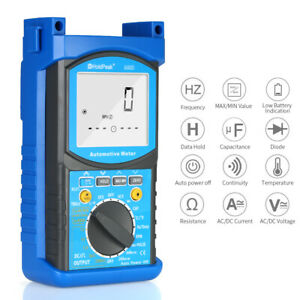Automotive Engine Analyzer Digital Multimeter Resistance Capacitance Diagnostic