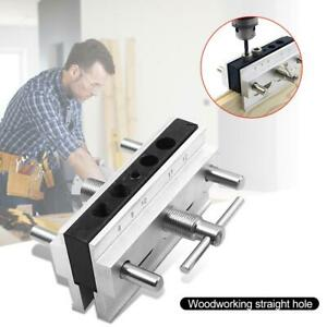 Woodworking Vertical Hole Punch Locator Puncher Doweling Jig Drill Guide