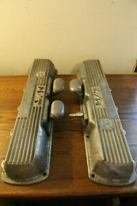Vintage Mickey Thompson Oldsmobile Aluminum Valve Covers 330 425 3285425