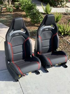 2015 Mercedes Benz C Class W205 Coupe C63 Amg Performance Recaro Seats