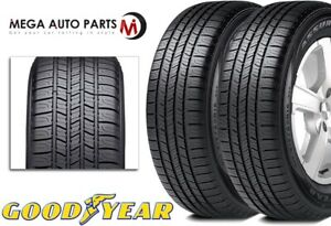 2 Goodyear Assurance All Season 225 55r16 95h High Mileage Tires 65k Mi Warranty