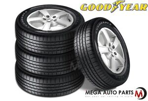 4 Goodyear Assurance All Season 225 55r16 95h 600ab 65k Mi Warranty Durable Tire