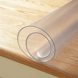 Upgraded Version 1 5mm Thick 20 X 42 Inches Frosted Desk Cover Protector Water